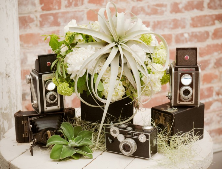 Black and White Industrial Wedding 4