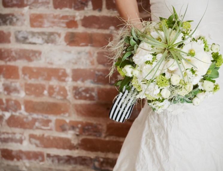Black and White Industrial Wedding 5